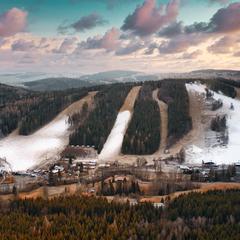 Zasnežovanie v českej Ski Aréne Karlov - © facebook | Skiareál Klobouk