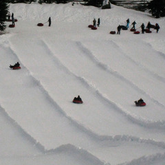 Tubing at the Summit at Snoqualmie. Photo by Becky Lomax.  - © Becky Lomax