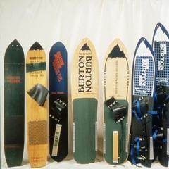 Snowboards aus der Geschichte von Burton - ©The Burton Corporation