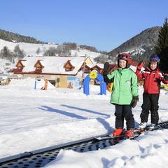 Doprajte svojim najmenším jazdu na lyžiarskom kolotoči - ©Park Snow Donovaly