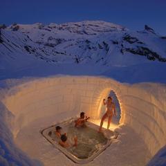 Una notte nel paese degli igloo: Iglu-Dorf