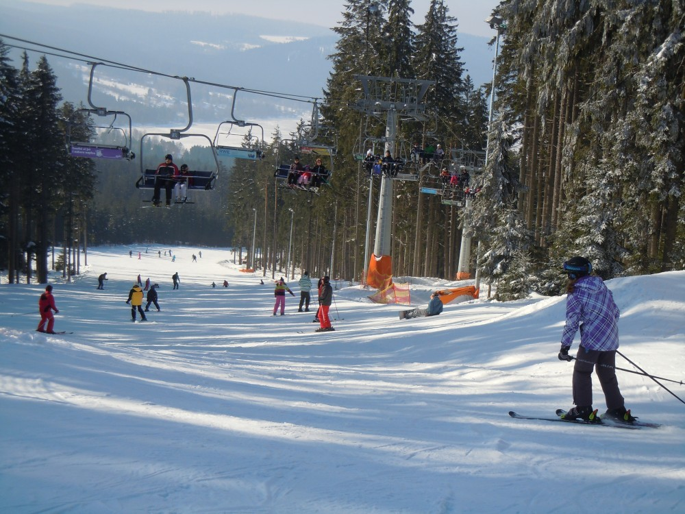 Skiareal Lipno