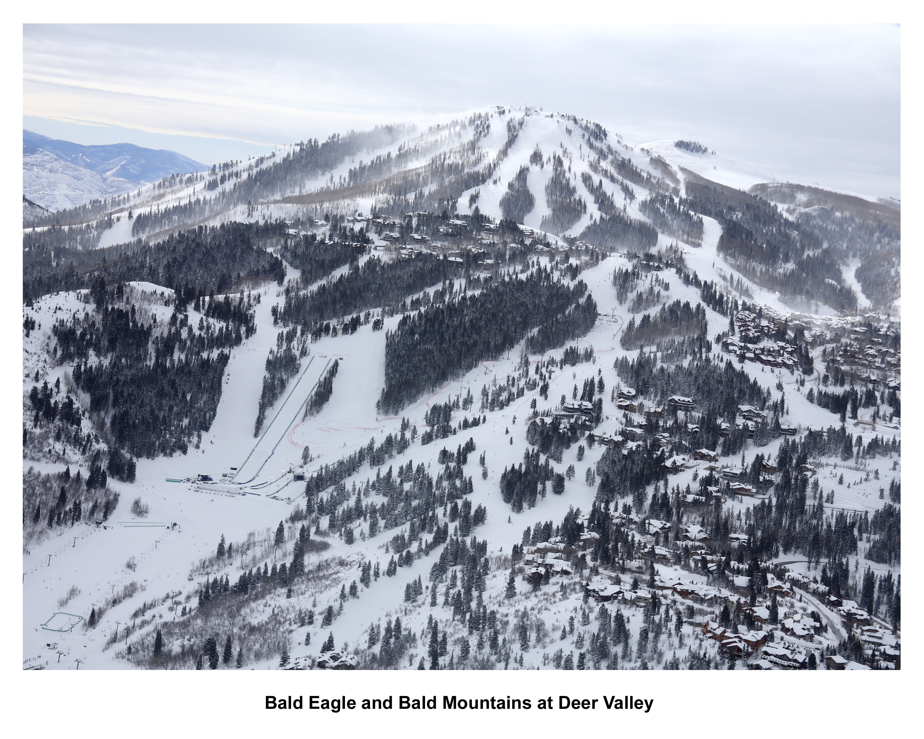 Panorama di Deer Valley, USAundefined