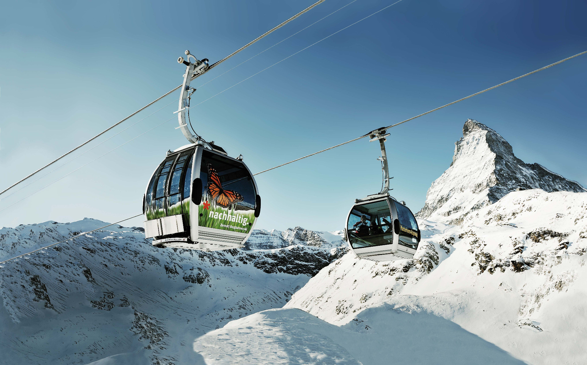 Gondola to the Matterhorn, Zermatt