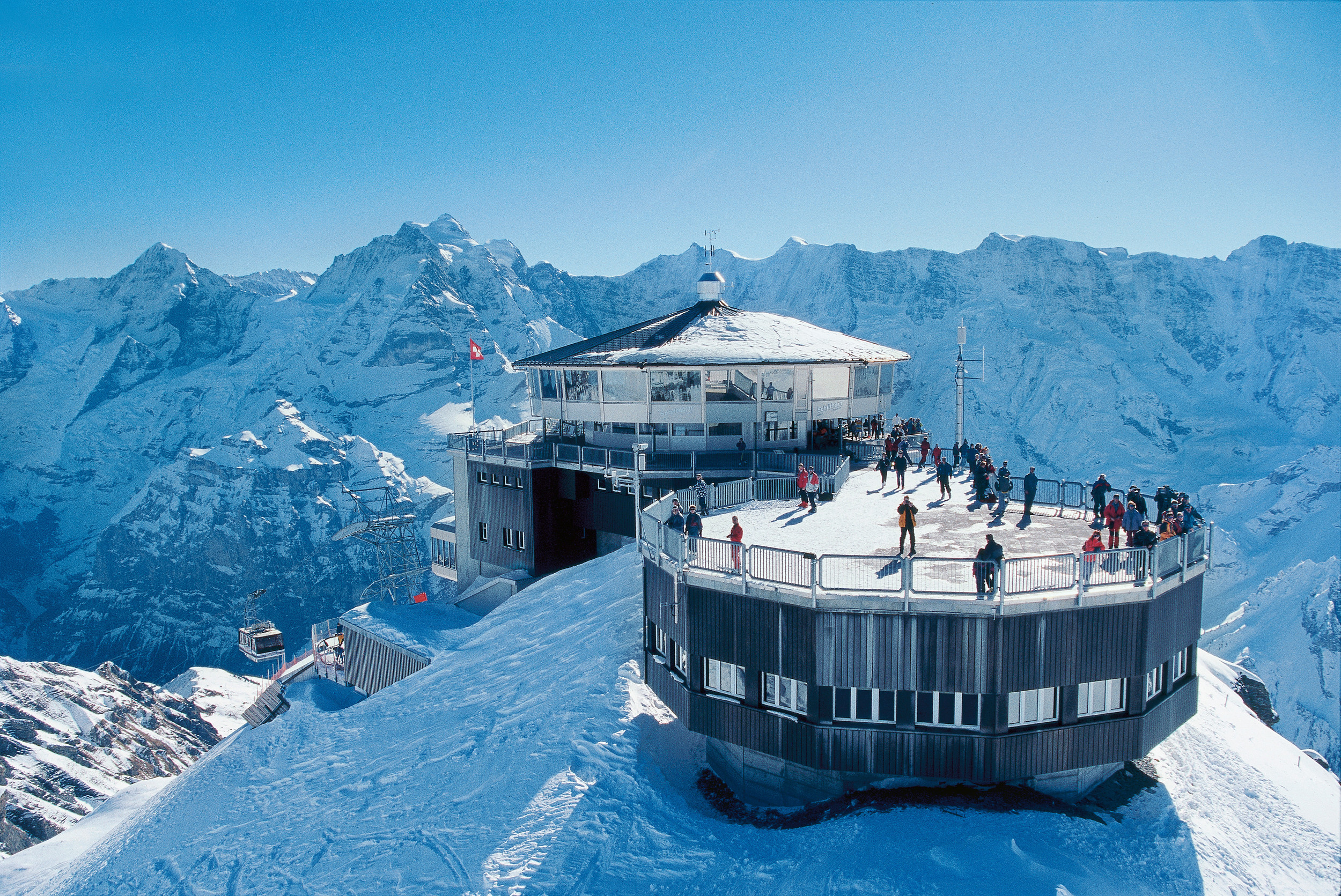 Piz Gloria on Schilthorn (swiss-image.ch Marcus Gyger)