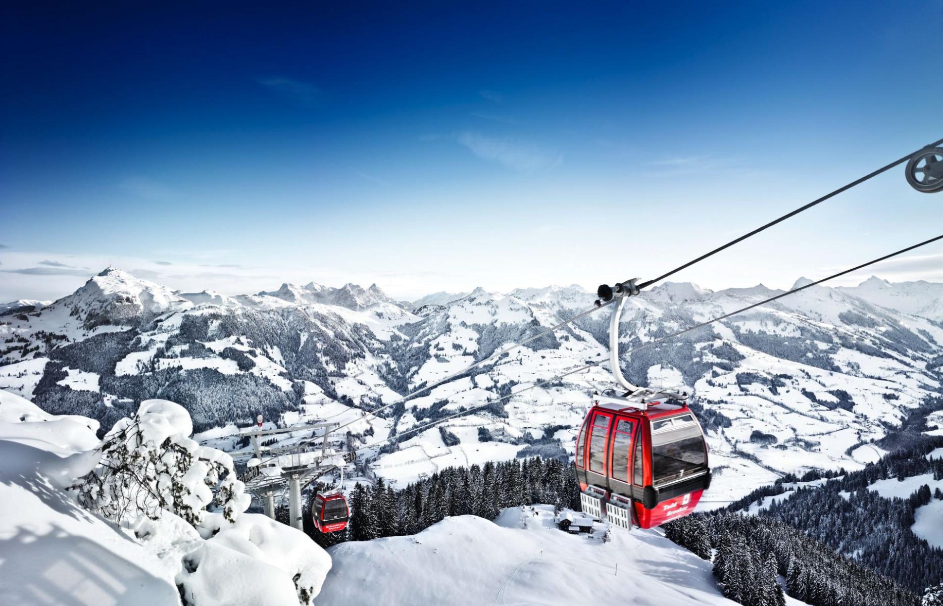 Traumpanorama in den Kitzbüheler Alpen
