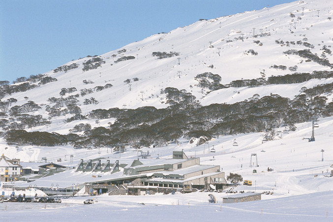 Perisher resort, Australiaundefined