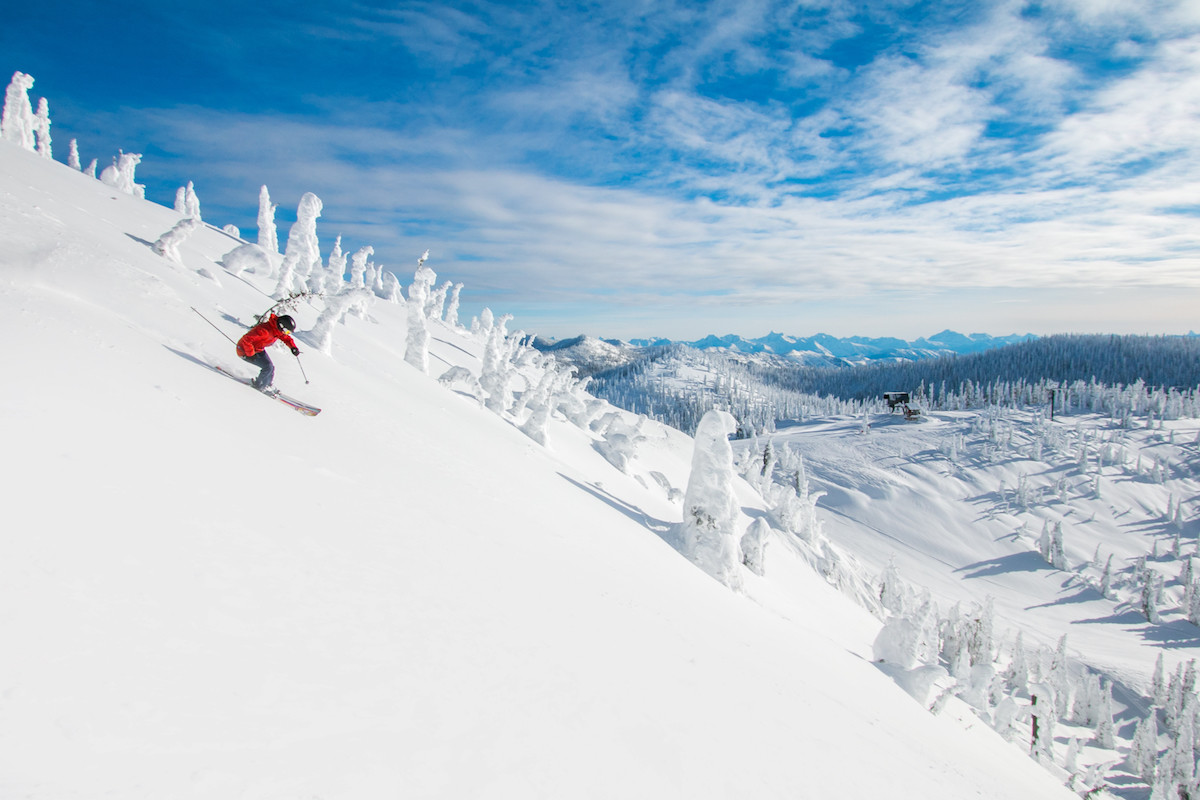 Whitefish Mountain Resort. Montanaundefined