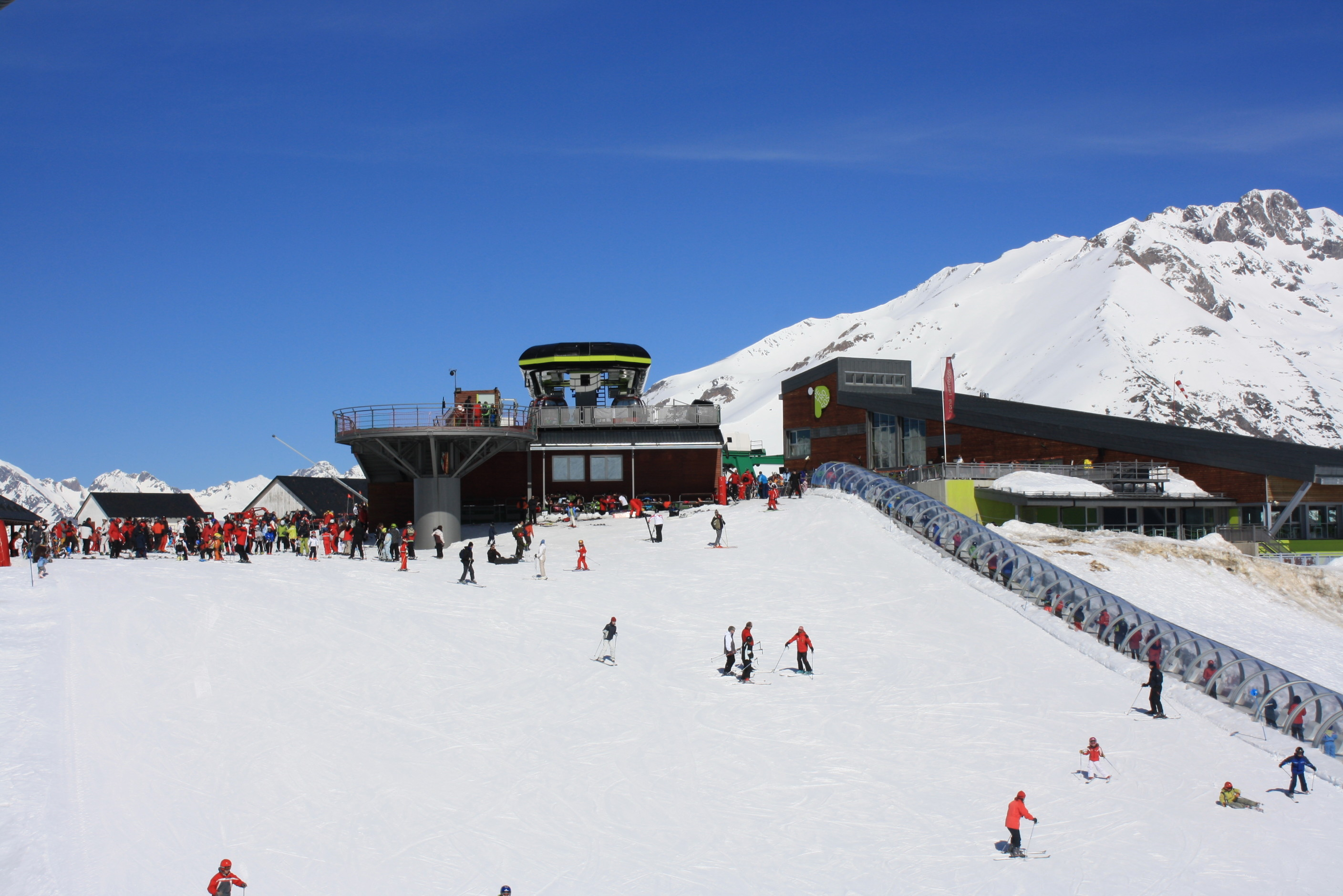 Ski area of Panticosa, Spainundefined