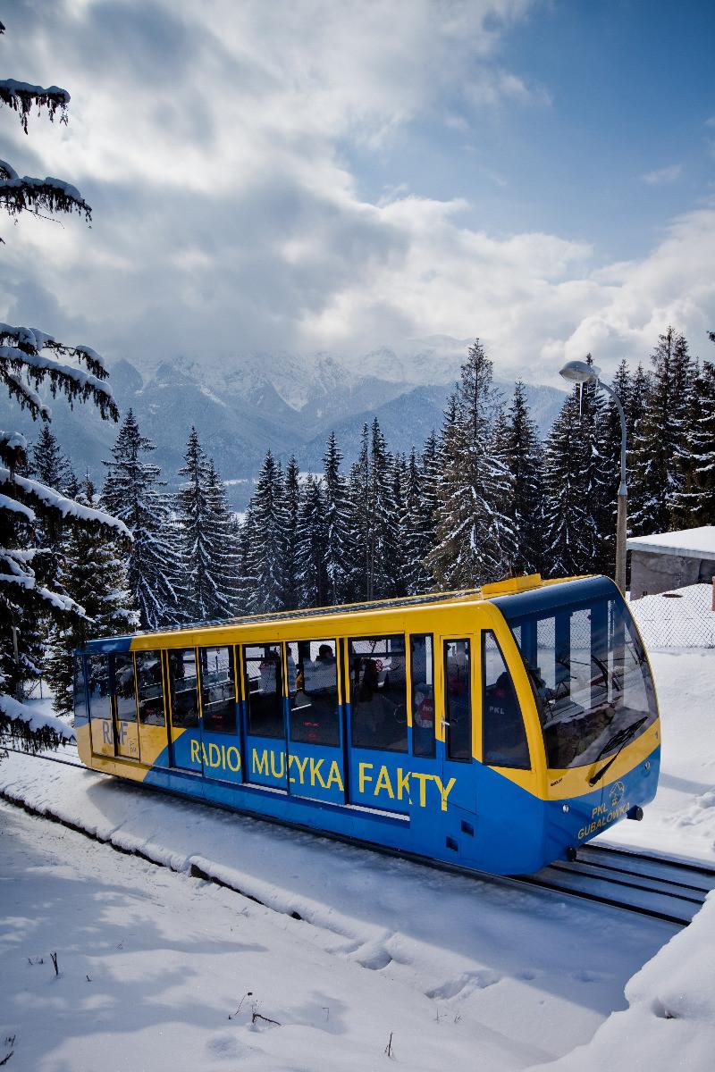Pokrywa śniegu Zakopane Gubałówka Warunki Narciarskie Skiinfo